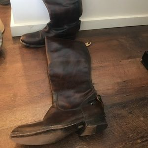 Melissa button Frye riding boots